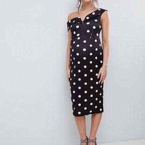 ASOS design maternity dress